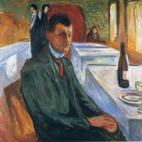"""Edvard Munch Painting "" by ArtLoversOnline"