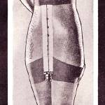 """Reduce, detail from 1932 girdle ad"" by arcaniumantiques"