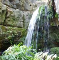 green waterfall 3