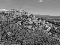 Village of Gordes, Provence (b/w)