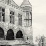 """Oakes Ames Hall"" by KevArchie"