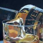 """Calvert- Drink Painting Series"" by WieberArt"