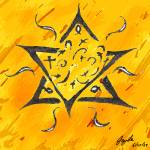 """Magen David (The star of David)"" by jaylee"