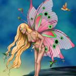 """Enchanted Birds Fairy"" by joellerene"
