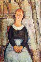Amedeo Clemente Modigliani Painting 2