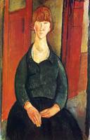 Amedeo Clemente Modigliani Painting 3