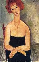 Amedeo Clemente Modigliani Painting 4