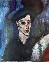 Amedeo Clemente Modigliani Painting 13