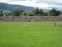 Fort William Battle Wall