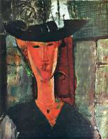 Amedeo Clemente Modigliani Painting 22