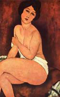 Amedeo Clemente Modigliani Painting 37