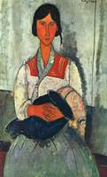 Amedeo Clemente Modigliani Painting 83