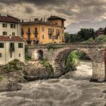 """dora baltea and old bridge in ivrea - hdr"" by bartoccetti"
