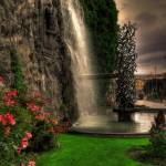 """camillo olivetti fountain ivrea - hdr"" by bartoccetti"
