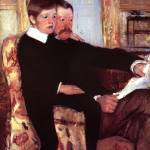 """Alexander J. Cassatt and His Son"" by ArtLoversOnline"