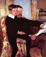Alexander J. Cassatt and His Son