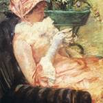 """Mary Cassatt Painting 5"" by ArtLoversOnline"