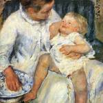 """Mary Cassatt Painting 11"" by ArtLoversOnline"