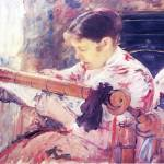 """Mary Cassatt Painting 12"" by ArtLoversOnline"