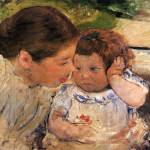 """Mary Cassatt Painting 13"" by ArtLoversOnline"
