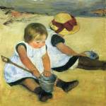 """Mary Cassatt Painting 19"" by ArtLoversOnline"