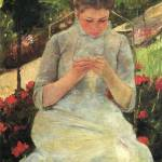 """Mary Cassatt Painting 23"" by ArtLoversOnline"