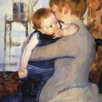 """Mary Cassatt Painting 25"" by ArtLoversOnline"