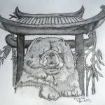 """Chinese Chow"" by Tifffanilodgeart"