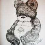 """teddy"" by Tifffanilodgeart"