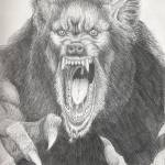 """P.O.W. (Pissed Off Werewolf)"" by wolfmanpaul"