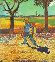 Painter On His WayTo Work by Vincent Van Gogh