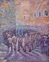 Prisoners Exercising by Vincent Van Gogh