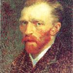 """Self Portrait by Vincent Van Gogh"" by BlueMoonArts"