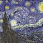 """Starry Night by Vincent Van Gogh"" by BlueMoonArts"