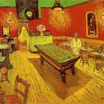 """The Night Cafe by Vincent Van Gogh"" by BlueMoonArts"