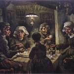 """The Potato Eaters by Vincent Van Gogh"" by BlueMoonArts"