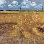 """Wheat Field by Vincent Van Gogh"" by BlueMoonArts"
