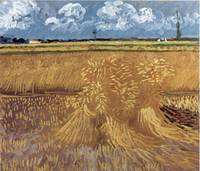 Wheat Field by Vincent Van Gogh