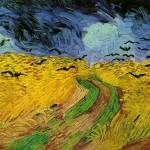 """Wheat Field with Crows, 1890 by Vincent Van Gogh"" by BlueMoonArts"