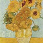 """12 Sunflowers by Vincent Van Gogh"" by BlueMoonArts"