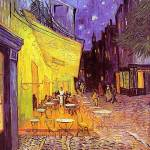 """Cafe Terrace At Night by Vincent Van Gogh"" by BlueMoonArts"