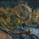 """Four Sunflowers by Vincent Van Gogh"" by BlueMoonArts"