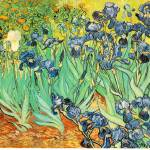 """Irises 1 by Vincent Van Gogh"" by BlueMoonArts"