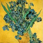 """Irises 3 by Vincent Van Gogh"" by BlueMoonArts"