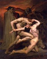 Dante And Virgil In Hell - William-Adolphe Bouguer
