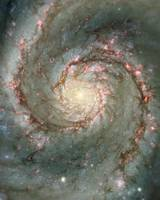Heart Of Whirlpool Galaxy