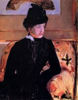 Mrs. Gardner Cassatt in Black