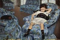 Small Girl in the Blue Armchair