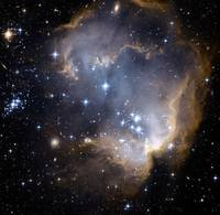 NGC 602 In Small Magellanic Cloud