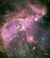 NGC 346 In The Small Magellanic Cloud